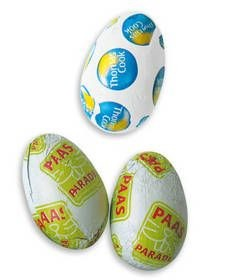 Picture of CHOCOLATE EASTER EGG in Personalised Foil