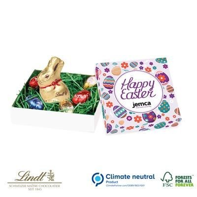 Picture of LINDT NEST BOX with Bunny Rabbit & Mini Eggs