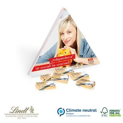 Picture of LINDT EASTER TRIANGULAR GIFT BOX