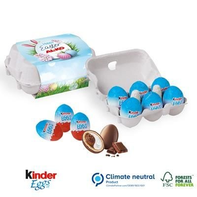 Picture of PERSONALISED KINDER 6 MINI EGG CARTON