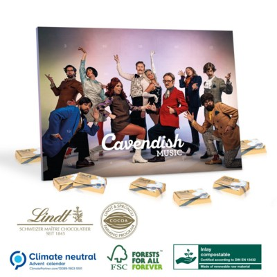 Picture of PERSONALISED A5 LINDT SELECT CALENDAR