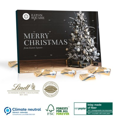 Picture of 100% ECO FRIENDLY LINDT SELECT DESK TOP ADVENT CALENDAR