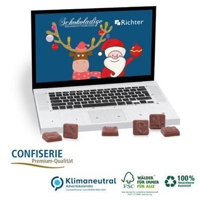 Picture of LAPTOP DESIGN CLASSIC DESK TOP ADVENT CALENDAR