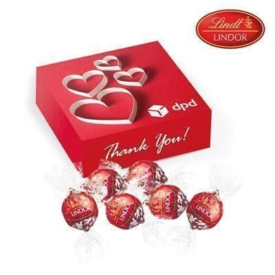 Picture of LINDOR CHOCOLATE PERSONALISED PRESENT BOX