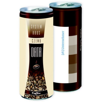Picture of PERSONALISED CAN OF LATTE COFFEE