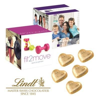 Picture of LINDT VALENTINES PROMOTIONAL CUBE