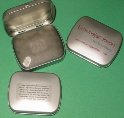 Picture of MATT SILVER MINTS TIN