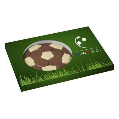 Picture of PROMOTIONAL 2D CHOCOLATE FOOTBALL GIFT BOX