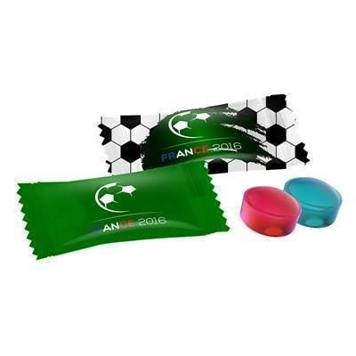 Picture of PROMOTIONAL FOOTBALL MINI CANDY FLOW PACK