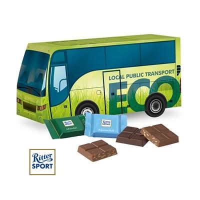 Picture of PERSONALISED CHOCOLATE 3D COACH GIFT BOX