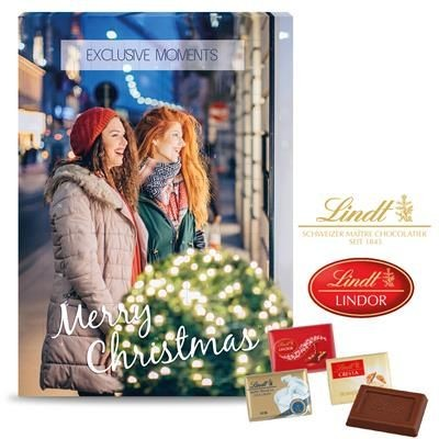 Picture of PERSONALISED LINDT EXCLUSIVE WALL CALENDAR