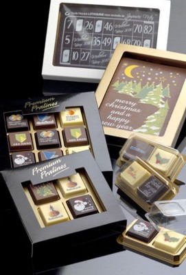 Picture of PRINTED LOGO CHOCOLATE BOX