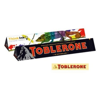 Picture of PERSONALISED CHOCOLATE TOBLERONE