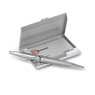 Picture of BUSINESS CARD HOLDER with Ball Pen
