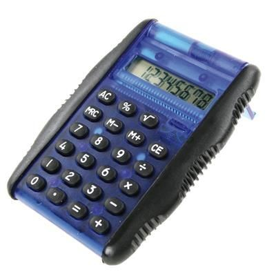 Picture of CALCULATOR with Rubber Sides & Auto Folding Lid
