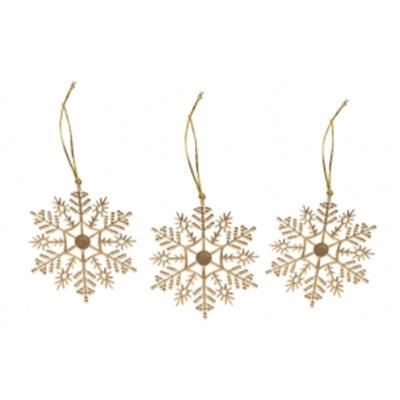 Picture of SET OF 6 HANGERS SHAPE AS SNOWFLAKES