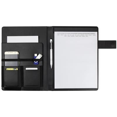 Picture of A4 DOCUMENT FOLDER with Pockets in the Inside & Note Book