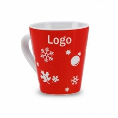 Picture of 350 ML CERAMIC POTTERY MUG with Christmas Motif