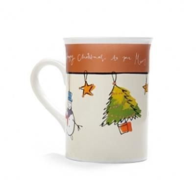 Picture of 300 ML CERAMIC POTTERY CHRISTMAS MUG
