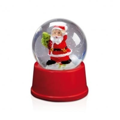 Picture of CHRISTMAS SPHERE with Father Christmas Santa Figure