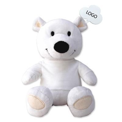 Picture of WHITE TEDDY BEAR