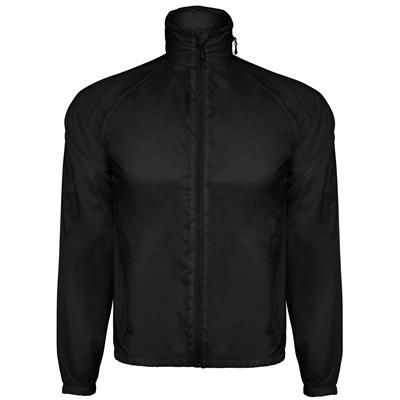 Picture of WINDBREAKER JACKET in Technical Fabric Collar with Zip for Hood Breathable Fabric on the Armholes Ra