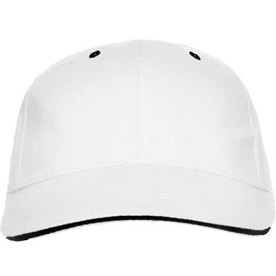 Picture of 6 PANELS CONTRAST SANDWICH BASEBALL CAP