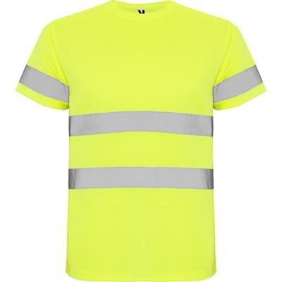 Picture of HIGH VISIBILITY SHORT SLEEVE TECHNICAL TEE SHIRT