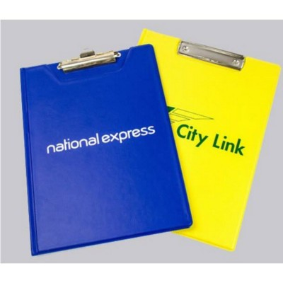 Picture of SINGLE OR DOUBLE PAGE VINYL CLIPBOARD
