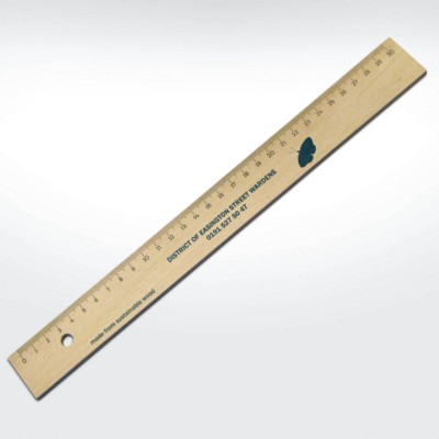 Picture of GREEN & GOOD SUSTAINABLE WOOD 30CM RULER