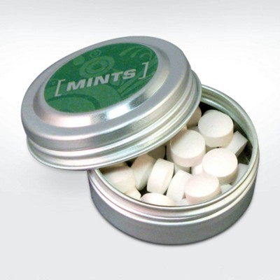Picture of GREEN & GOOD MINI MINTS in Recycled Aluminium Silver Metal Container