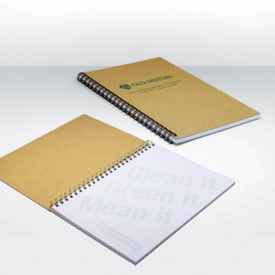 Picture of GREEN & GOOD RECYCLED WIRE A5 NOTE BOOK