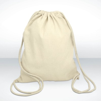 Picture of GREEN & GOOD COLUMBIA COTTON DRAWSTRING BACKPACK RUCKSACK  in Natural