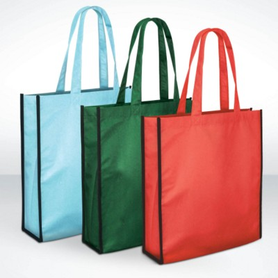 Picture of GREEN & GOOD ALDGATE RECYCLED PET GROCERY SHOPPER TOTE BAG