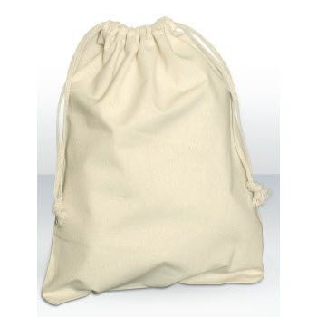 Picture of GREEN & GOOD NATURAL COTTON MEDIUM DRAWSTRING POUCH