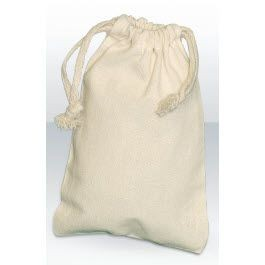 Picture of GREEN & GOOD NATURAL COTTON SMALL DRAWSTRING POUCH