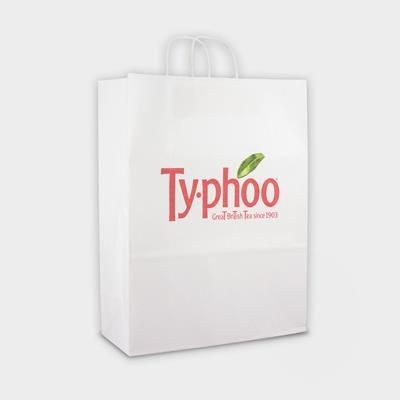 Picture of GREEN & GOOD LARGE SUSTAINABLE KRAFT PAPER BAG with Twisted Handles