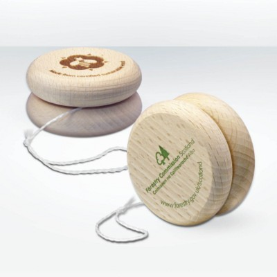 Picture of GREEN & GOOD SUSTAINABLE WOOD YOYO in Natural