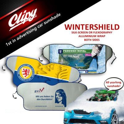 Picture of CLIPY CAR WINTERSHIELD & SUN SHADE