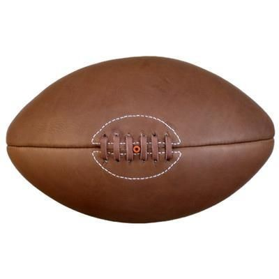 Picture of SIZE 5 ORIGINAL ANTIQUE EFFECT LEATHER RUGBY BALL
