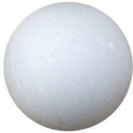 Picture of PROMOTIONAL PING PONG TABLE TENNIS BALL in White
