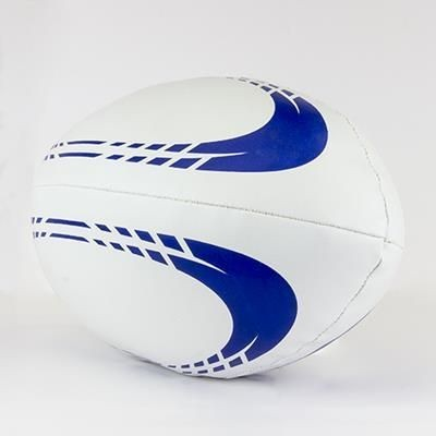 Picture of SIZE 5 SOFT FILLED RUGBY BALL in PVC