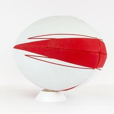 Picture of SIZE 4 RUBBER PROMOTIONAL RUGBY BALL