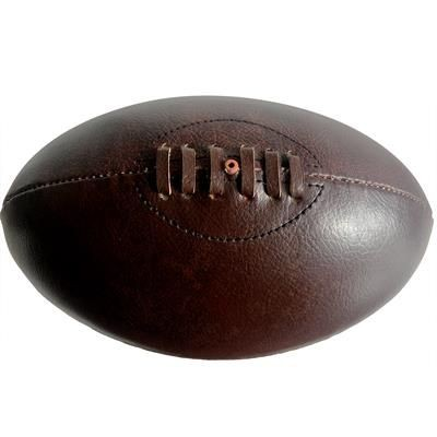Picture of VINTAGE LEATHER RUGBY BALL