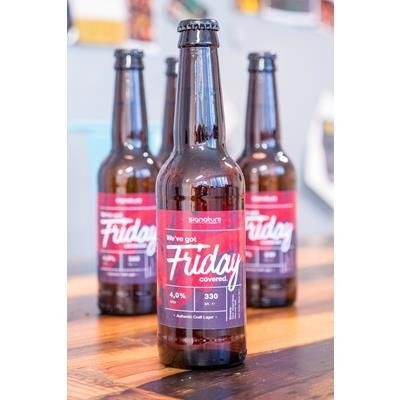 Picture of PERSONALISED BEER BOTTLE