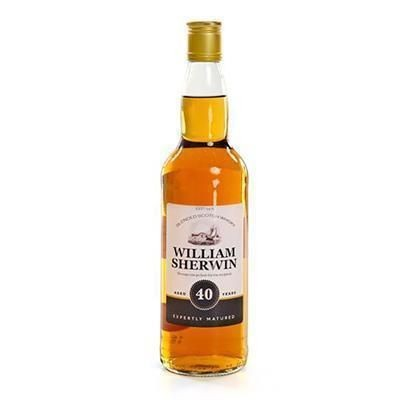 Picture of PERSONALISED 70CL WHISKY BOTTLE