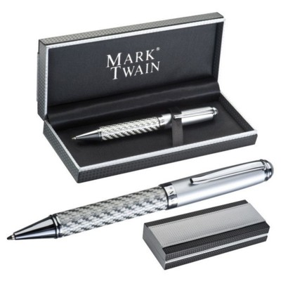 Picture of COLUMBIA MARK TWAIN BALL PEN in Grey