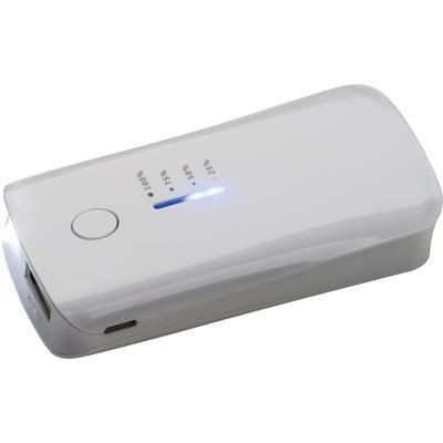 Picture of PLASTIC POWERBANK in White