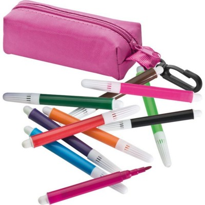 Picture of FELT PEN CASE in Pink