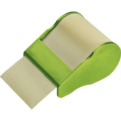 Picture of STICKY NOTE DISPENSER in Apple Green